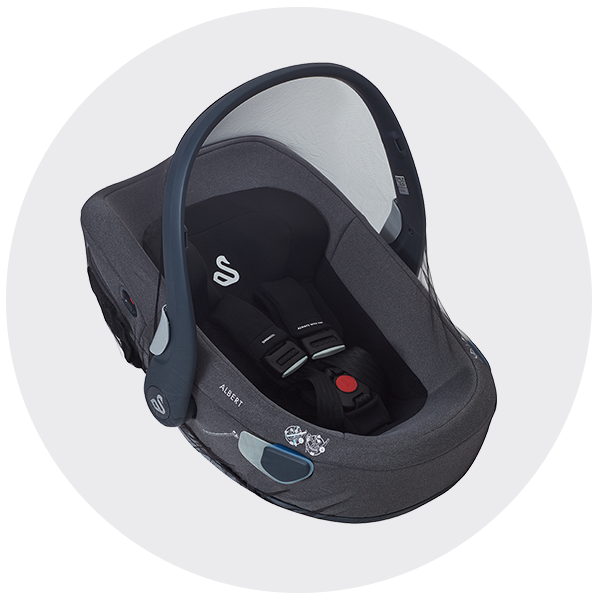 Insect net accessory for i-Size car seat