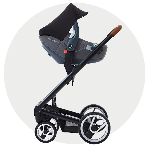 Albert i-Size car seat with the stroller