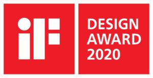 iF Award logo for Marie Car Seat