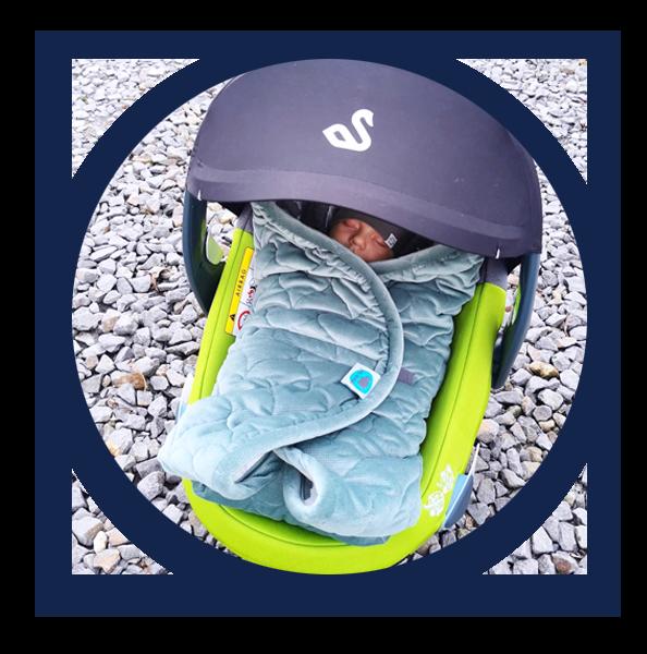 Swandoo's Albert infant carrier offers optimal ergonomic design